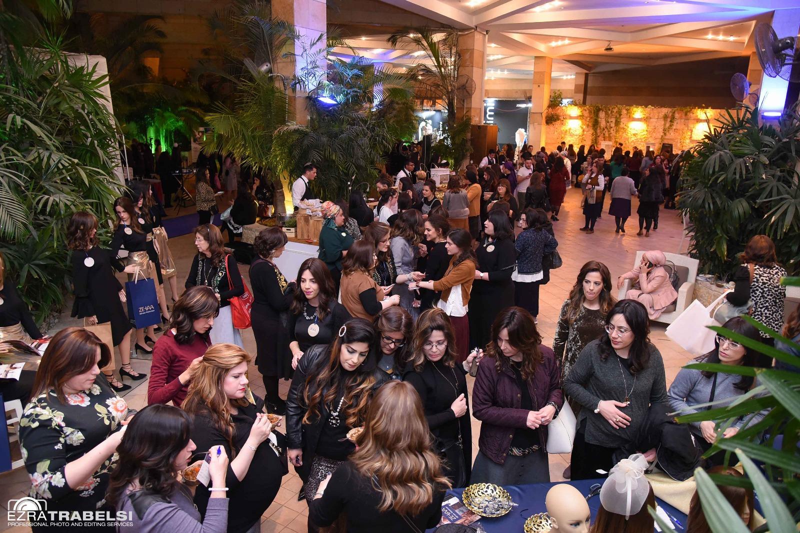 """סיקור מצולם: יותר מאלף נשים באירוע """"עושות עסק 5"""" של עיתון משפחה 1"""