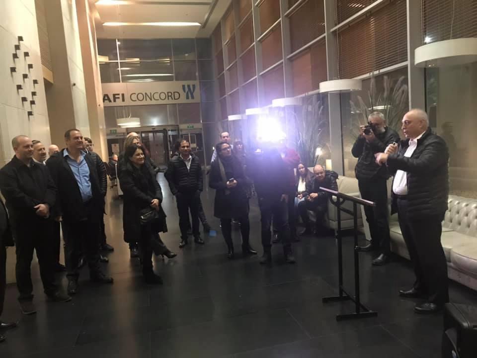 """סיקור וגלריה: אפרת פינקל הצטרפה לאוטובוס המנכ""""לים של קמא-טק 1"""
