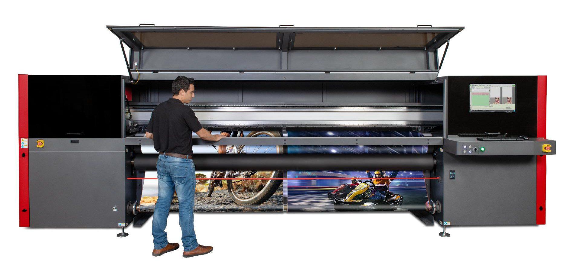 לראשונה בישראל: מכונת דפוס חדשנית ומתקדמת נחתה בדטה פרינט 2