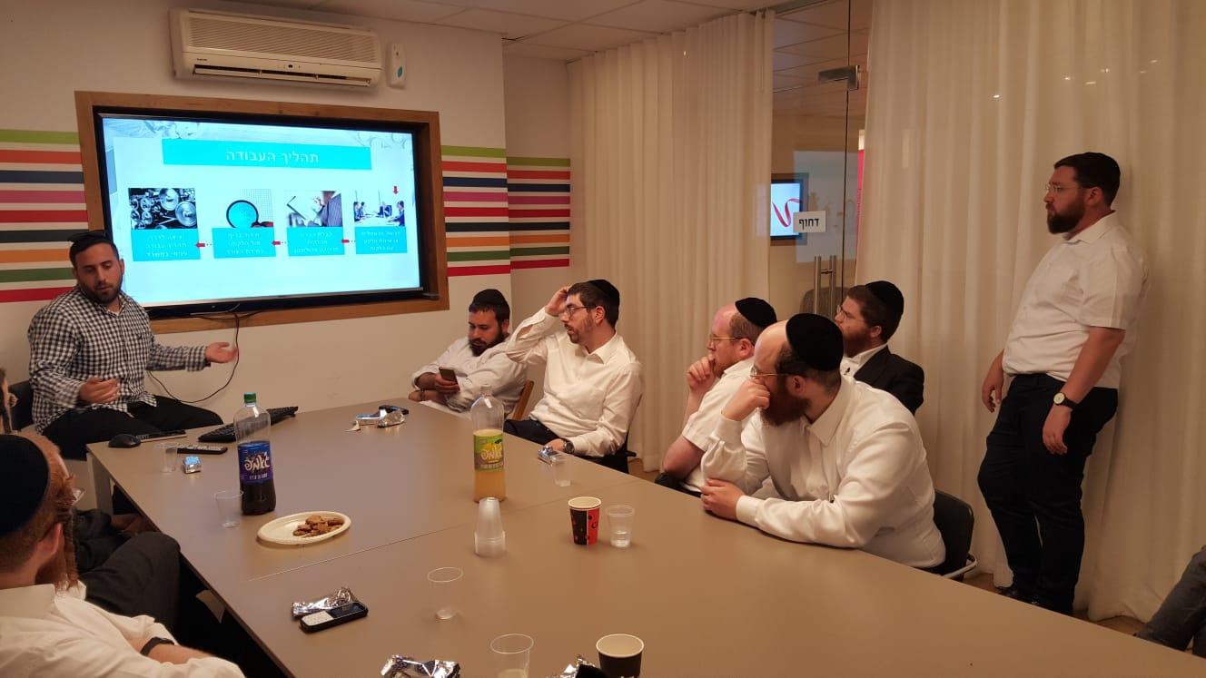 בוגרי חממת ביזאפ יצאו לסיור במשרדי גוגל, אלמנטור וגל אורן 4