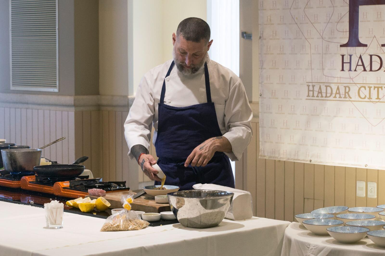 השף אסף גרניט העביר סדנת בישול לעיתונאיות חרדיות 4