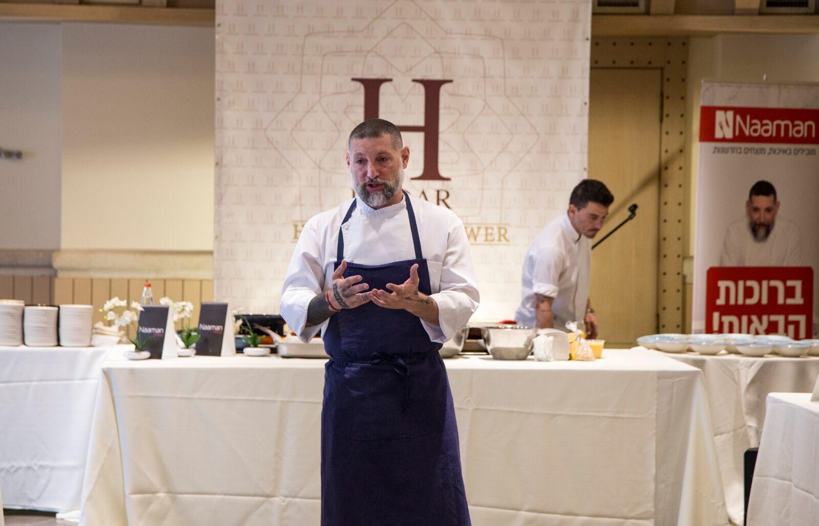 השף אסף גרניט העביר סדנת בישול לעיתונאיות חרדיות 2