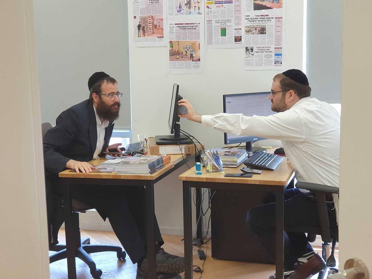 בעקבות הסרטון הויראלי: מנהל הקמפיין של אגודת ישראל מדבר 1