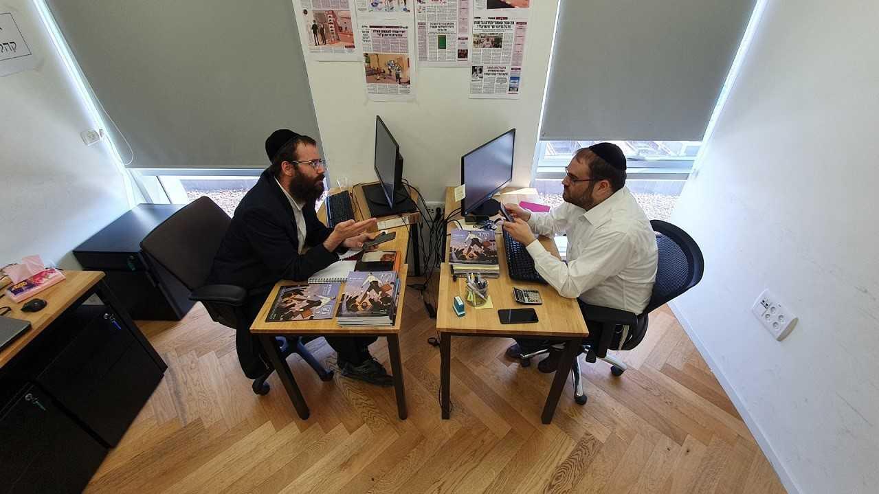 בעקבות הסרטון הויראלי: מנהל הקמפיין של אגודת ישראל מדבר 2