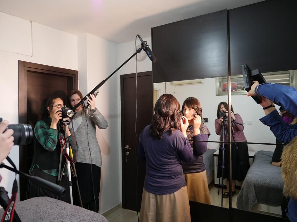 מאחורי הקלעים: בוגרות קורס מולטימדיה מדברות 6