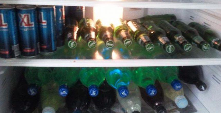 המקרר טרום המשתה - מבט מקדימה