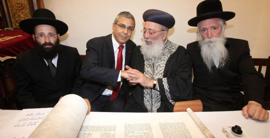 הברנז'ה הרבנית דפקה נוכחות