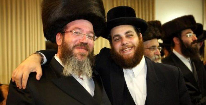 שלמה היימן עם קלמן בורשטיין