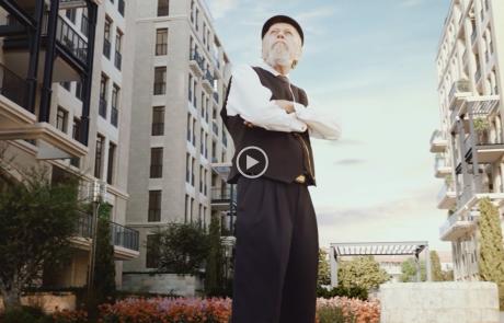 לראשונה: סרט ברמה בינלאומית למיזם היוקרה ג'רוזלם אסטייטס בשנלר