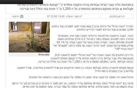 """כיכר השבת לא רק בשבת, גם בר""""ה ובמועדי ישראל"""