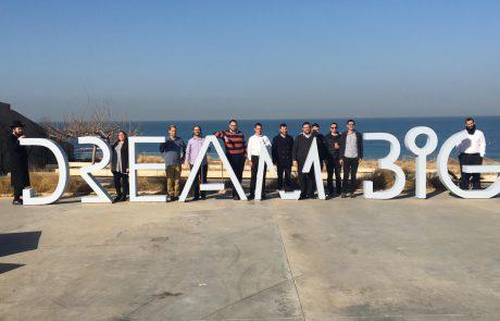 לפני כולם: סיור מודרך ומצולם במרכז פרס לשלום ולחדשנות